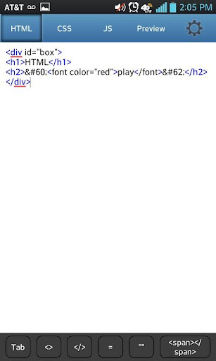 HTML play LITE