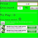Sale Green Calculator logo