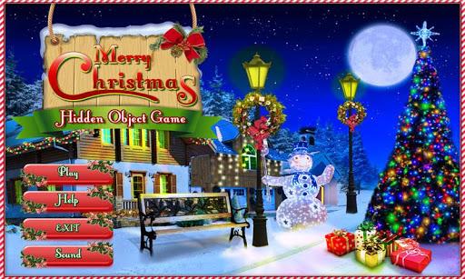 Merry Christmas Hidden Objects