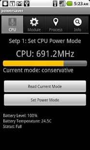 Power saver  advanced - screenshot thumbnail