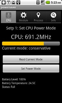 Power saver advanced