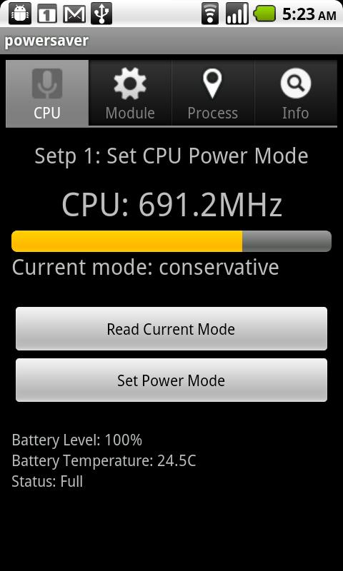 Power saver  advanced- screenshot