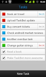 TaskBot - To-do List - screenshot thumbnail