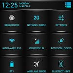 Blue Fire Theme CM11/AOKP v4.08