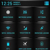 Blue Fire Theme CM11/AOKP