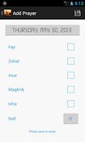 Screenshot of Salah Manager