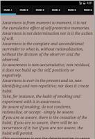 Screenshot of Awareness by J.Krishnamurti