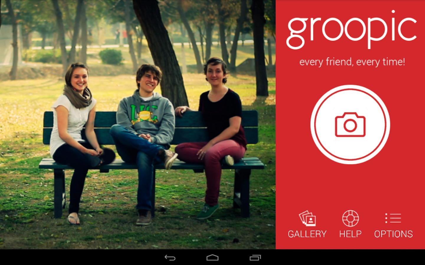 groopic - screenshot