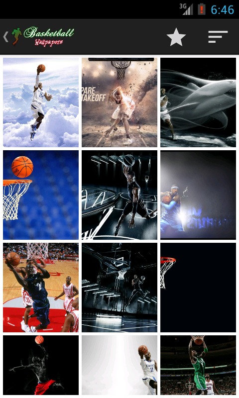 Basketball Wallpaper HD - screenshot