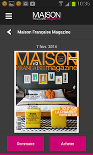 app maison francaise magazine 1 0 apk for windows phone android games and apps. Black Bedroom Furniture Sets. Home Design Ideas