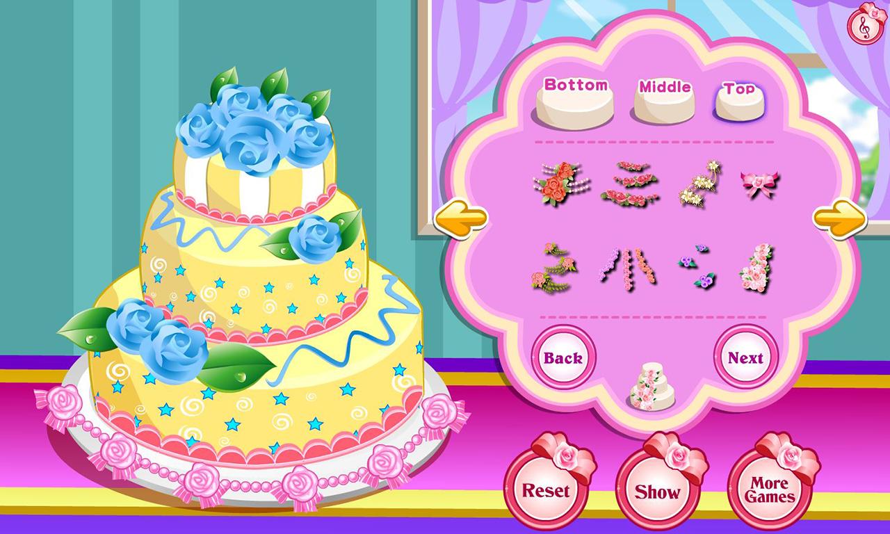 Rose Wedding Cake Game Google Play Store revenue download