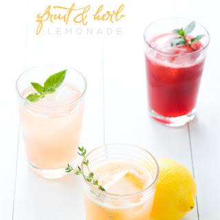 Fruit and Herb Lemonade