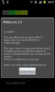 Wake Lock - PowerManager - screenshot thumbnail