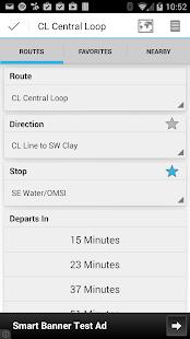 YourBus Portland Streetcar - screenshot thumbnail