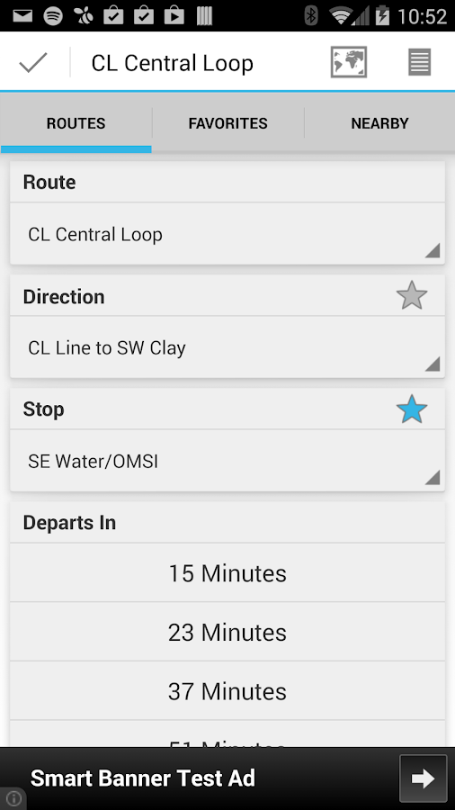 YourBus Portland Streetcar - screenshot