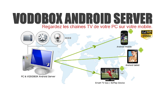 My VODOBOX Android Server - screenshot thumbnail