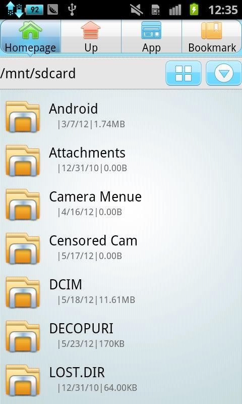 ファイルマネージャー- スクリーンショット
