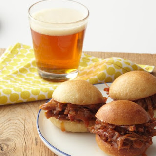 Pulled Pork with Orange Barbecue Sauce.