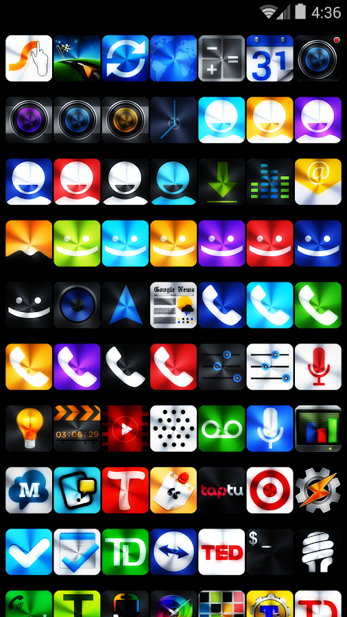 Icon Pack - VIVID - screenshot