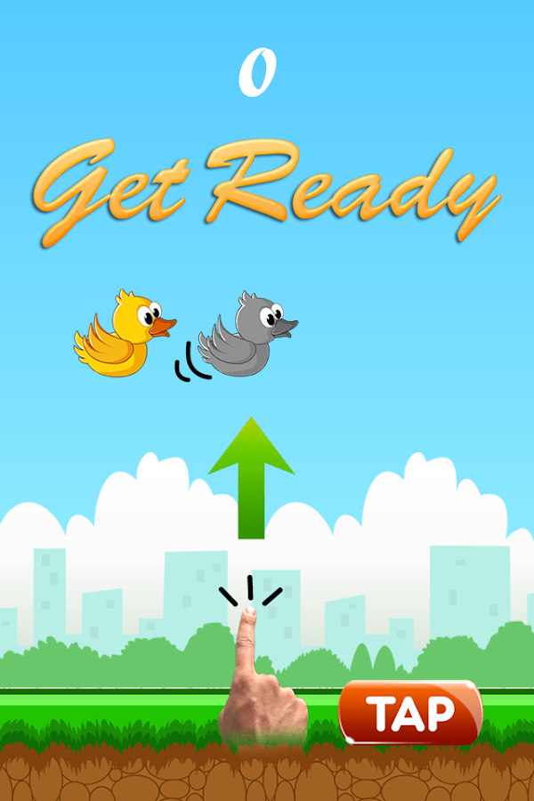 Floppy Bird: Moving Pipes - screenshot