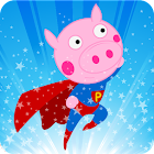 Peppie Pig Big Hero icon