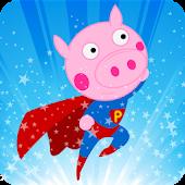 Peppie Pig Big Hero