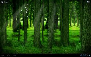 Screenshot of RealDepth Forest Free LWP