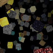3D animated blocks Minecraft
