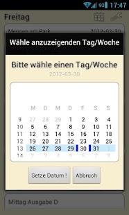 Mensa Weimar- screenshot thumbnail