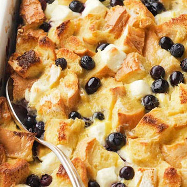 Blueberry Surprise French Toast Casserole Recipe