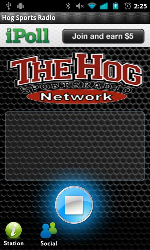 Hog Sports Radio - screenshot