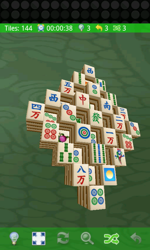 Mahjong 3D- screenshot