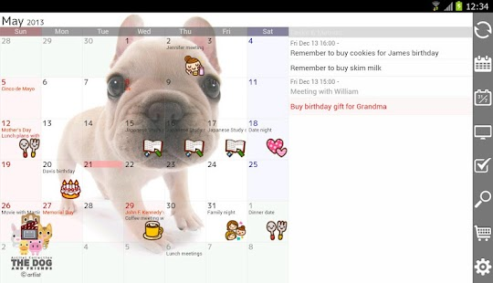 Jorte Calendar & Organizer - screenshot thumbnail