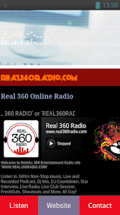 Real 360 Radio- screenshot thumbnail