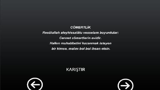 Hz.Muhammed ` in Nasihatları
