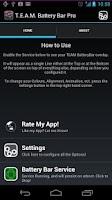 Screenshot of TEAM BatteryBar Pro