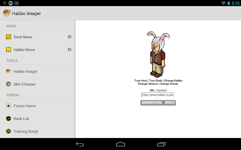 Habbo Swat Mobile screenshot 9