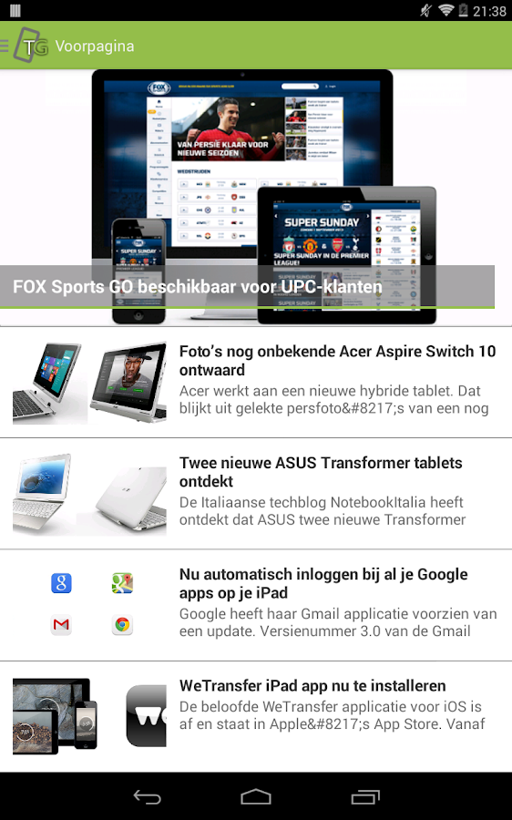 TabletGuide- screenshot