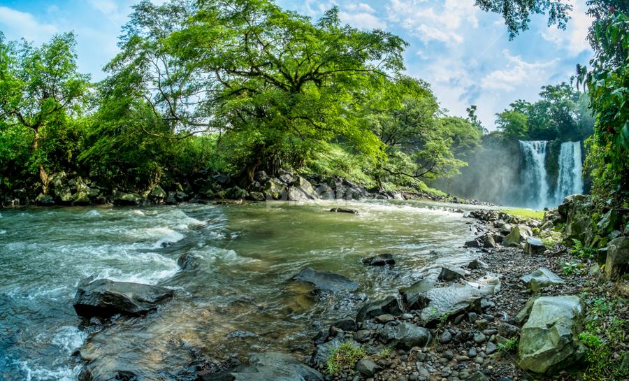 curug bengkawah by Candra Yaasin - Landscapes Waterscapes