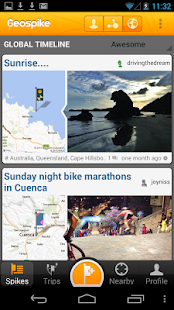 Geospike – Travel Blogging - screenshot thumbnail