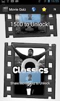 Screenshot of Movie Poster Quiz Deluxe