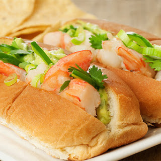 Mexican Shrimp Roll w/Avocado Mayo
