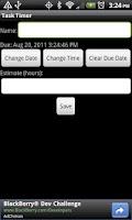 Screenshot of Task Timer