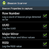 Beacon Scanner & Logger (free)