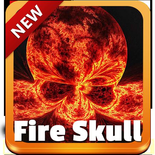 Fire Skull GO Keyboard