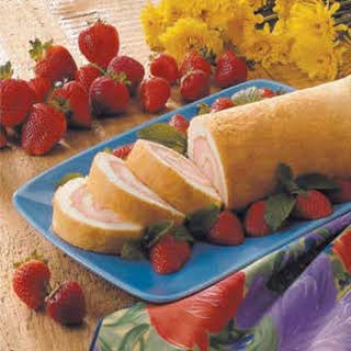 Angel Food Cake Roll.