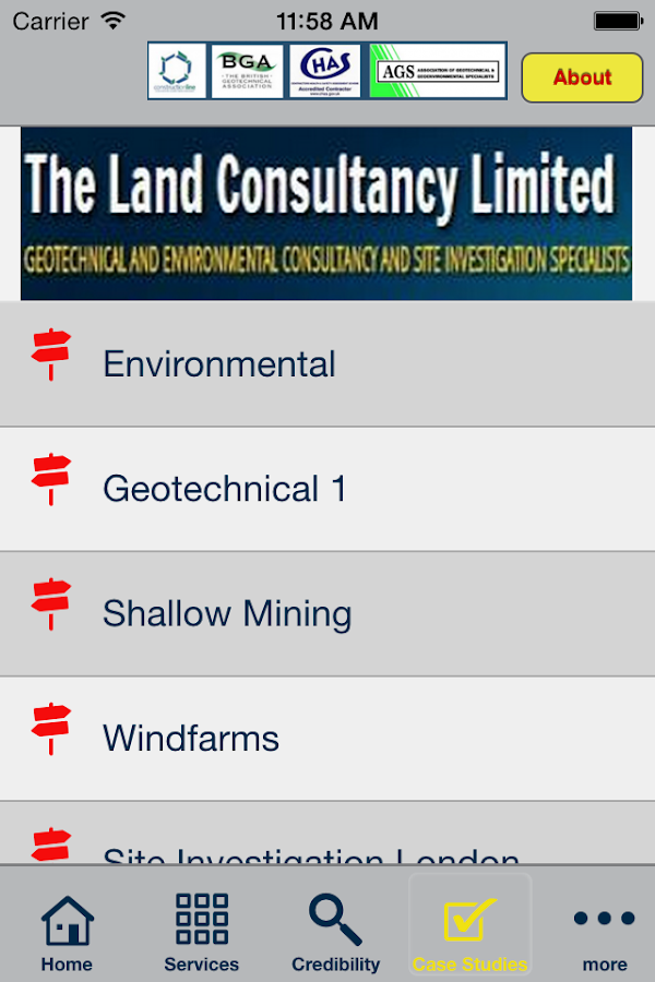 Land Consultancy- screenshot