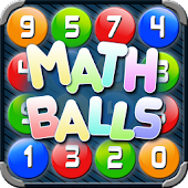 Math Balls. Number game