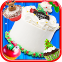 Christmas Cake Maker FREE icon