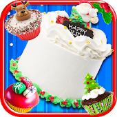Christmas Cake Maker Bake & Make Food Cooking Game